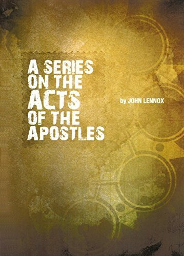 A Series On The Acts Of The Apostles, 5 CDs by John Lennox (2008-08-02)