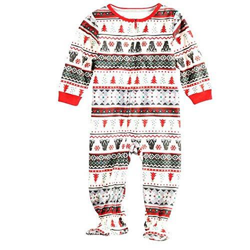 Passender Pyjama Für Die Familie Weihnachtsdruck Home Service-Pyjamas Zweiteiliger Vater Und Kind Langarm-Pyjamas Für Kinder