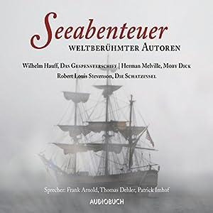 Seeabenteuer weltberühmter Autoren: Moby Dick - Das Gespensterschiff - Die Schatzinsel