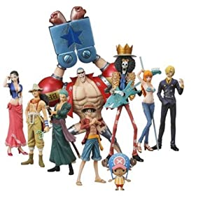 One Piece: Straw Hat Pirates Chozokei Damashii New World Ver. Trading Figures... (japan import) 3