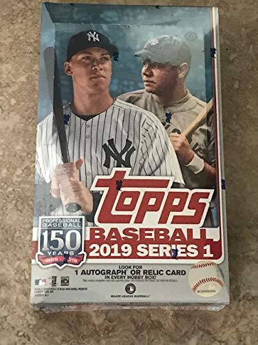 Topps 2019 Series 1 Baseball Hobby Box MLB