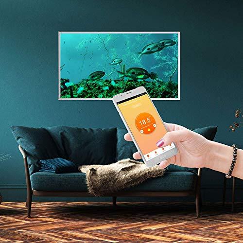 Könighaus Fern Infrarotheizung – Bildheizung in HD Qualität mit TÜV/GS – 200 Bilder – mit Thermostat 7 Tage Programm – 800 Watt (172. Trauben Auslese) Bild 3*