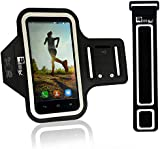 Premium Armband for iPhone 7 with Fingerprint ID & Earphone Access. Sports Phone Holder Case for Running & Exercise (Small 23cm - Large 53cm Arms)