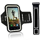 iPhone 8/7/6 Armband Mit Fingerprind-Identifizierung. Sportarmband Telefon Handyhalter Case für Laufen, Workout, Joggen & Fitness