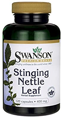 STINGING NETTLE LEAF - 120 CAPSULES - 400mg - 1st CLASS UK P&P from SWANSON