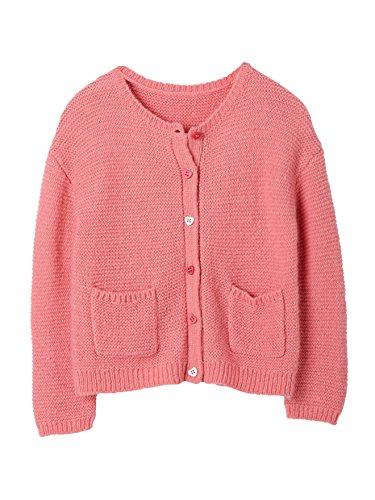 Vertbaudet Strickjacke für Mädchen mit Mohair rosa 98/104