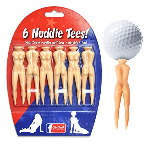 Nuddie Tees - Novelty Golf Tees