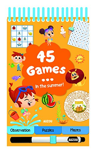 45 Games in the Summer por Auzou Publishing