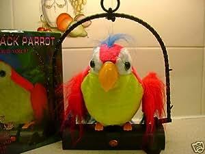 VILTALIZES Sprechender Papagei, wiederholt, was man ihm sagt
