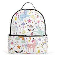 Unicorns Pattern Kid Backpack Childrens