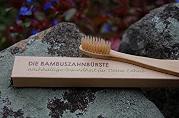 5er Pack Die Bambuszahnbürste - Nachhaltige Gesundheit Für Deine Zähne ✅Vegan ✅Biologisch Abbaubar ✅öKologisch ✅Nachhaltig ✅Bpa-frei ✅Umweltfreundlich ✅Mittlere Borsten 2