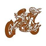 guijiumai Dctal Motorrad Aufkleber Fahrzeug Schädel Fledermaus Aufkleber Klassische Punk Poster...