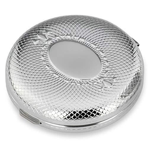 SILBERKANNE Pillendose Filigran rund 3 Fächer 6x2 cm Silber Plated versilbert in Premium Verarbeitung