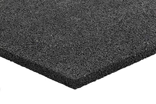 Anti-Vibrationsmatte für Waschmaschine und Trockner | Sicherheitsmatte aus Gummigranulat | Gummimatte | Bautenschutzmatte | Schwingungsdämpfer | 700 x 700 x 15 mm (1 Matte - 0,49qm)