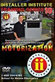 Installer Institute Training DVD 10 - Motorization - 71 Min (INS-VIDEO10-N)