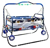 #10: Avani MetroBuzz Baby Swing With Pram (Blue)
