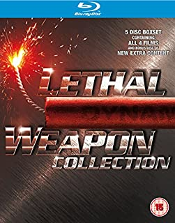 Lethal Weapon 1-4 [Blu-ray] [2005] [Region Free] (B003V1YHFE) | Amazon price tracker / tracking, Amazon price history charts, Amazon price watches, Amazon price drop alerts