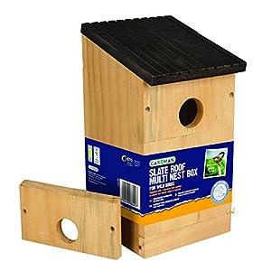Gardman A04381 Multi-Nest Box - Brown-P