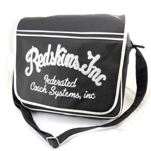 Redskins [J8437] - Sac bandoulière 'Redskins' Noir Vintage (Format A4)