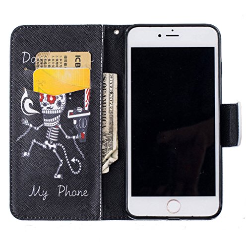 """iPhone 7 Plus Coque, ONLY pour 5.5"""" iPhone 7 Plus Housse - MYTHOLLOGY avec Support Housse PU Cuir Étui à rabat Portefeuille Antichoc Cover - HM GT"""