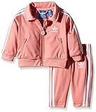 Adidas Survêtement Bébé Firebird 92 Peach Pink F15-St/White