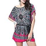 Blusas Mujeres, Dotbuy Vintage Tamaño Más Mini Vestido A-Linear Casual Camisetas Góticas Camisas...