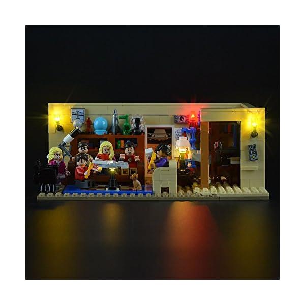 LIGHTAILING Set di Luci per (Ideas The Big Bang Theory) Modello da Costruire - Kit Luce LED Compatibile con Lego 21302… 1 spesavip