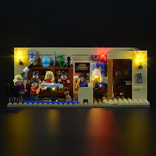LIGHTAILING Conjunto de Luces (Ideas The Big Bang Theory) Modelo de Construcción de Bloques - Kit de luz LED Compatible con Lego 21302 (NO Incluido en el Modelo)