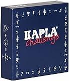 Kapla 8027legno Piastrine Challenge 16pezzi con 12carte da gioco