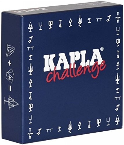 Kapla Challenge Box - Pinienholz Bausteine