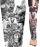 PunkJewelry Fashion Tattoo Ärmel Indianer im 2er Set -