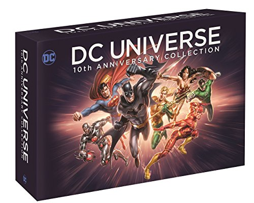 DC Universe 10th Anniversary Collection (19 Discs) [Blu-ray] - Batman-tv-serie