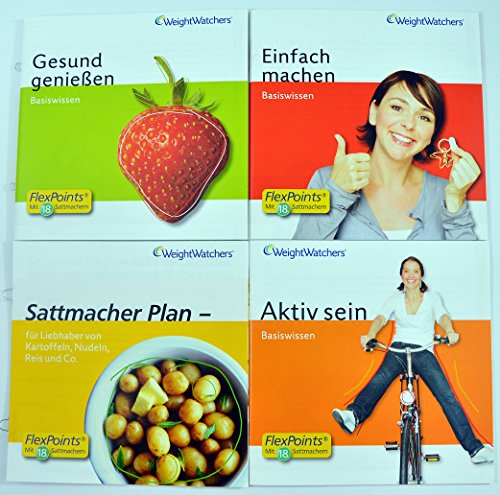 Weight Watchers \'Start-Broschüren\' inkl.POINTS®Analyse