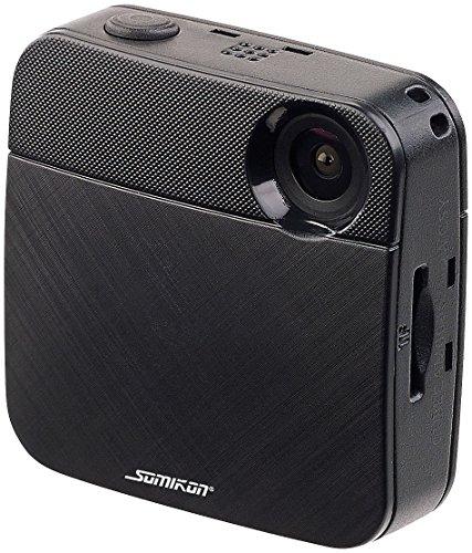 Somikon Bodycam: Mini-HD-Body-Cam mit WLAN & Livestream-Funktion für YouTube & Facebook (Mini Bodycam) Spy Wlan-camcorder
