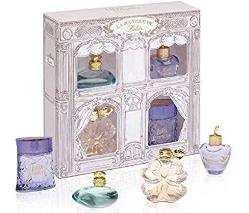 Lolita Lempicka Geschenkset 4 x 5ml Mini - L de Lolita EDP + Le Premier Parfum EDP + Au Masculin EDT -