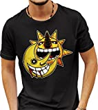 Black Soul Eater T-shirt XX-Large - Sun And Moon t-shirt - Birthday present - Dark t-shirt - Soul Eater - Goth t-shirt - Motorcycle clothing - motorcycle t-shirt