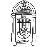 Mhdxmp Retro Jukebox MusikspielerWandkunst Aufkleber Aufkleber Wurlitzer Kinderzimmer Wandaufkleber Kunsthandwerk57 * 101Cm