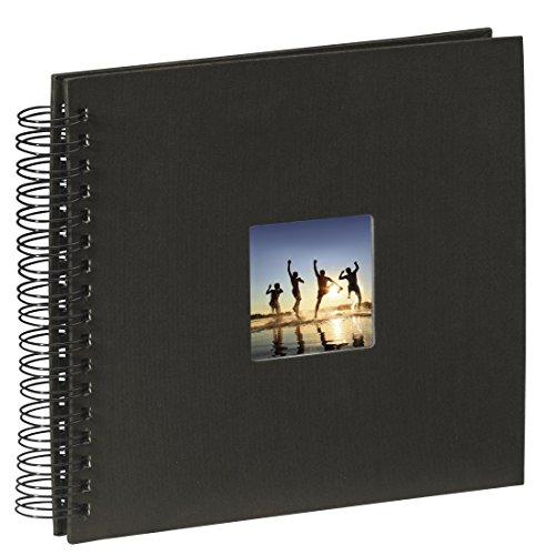 comprare on line Hama Fine Art Album Fotografico a Spirale, 50 Pagine, 28 x 24 cm, colore nero prezzo