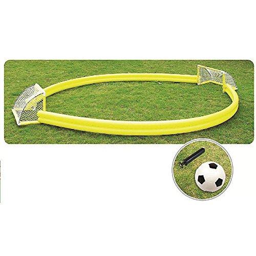 Campo da Calcio Gonfiabile con Pallone e Pompa cm. 410 x 200