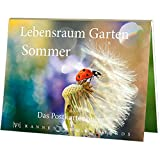 Postkartenbuch Lebensraum Garten - Sommer, Postkarte Ansichtskarte, Vögel Tiere