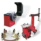 Reifenauswuchtgerät + Reifenmontiergerät
