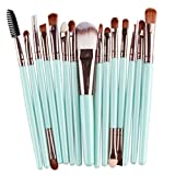 cosanter 15 pezzi pennello cosmetico di trucco Make Up pennello Set