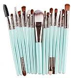 cosanter 15pezzi pennello cosmetico di trucco Make Up pennello Set