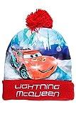 Disney Cars Mütze für Jungs und Mädchen, Art. 7213, rot, Gr. 54
