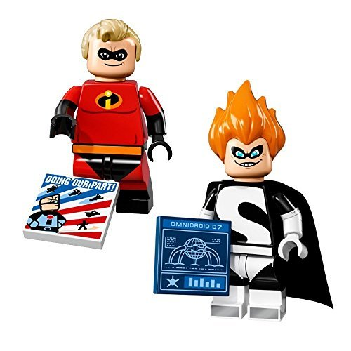 inifigures - Mr. Incredible and Syndrome (71012) (Incredibles Syndrome)