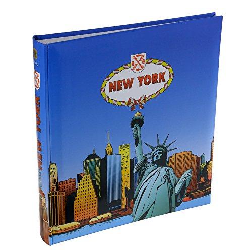 Henzo Fotoalbum NEW YORK Blau
