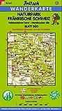 Fritsch Karten, Nr.53, Naturpark Fränkische Schweiz, Blatt Süd (Fritsch Wanderkarten 1:50000) -