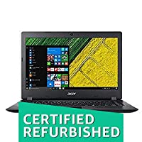 (CERTIFIED REFURBISHED) Acer NX.GNTSI.011 (A315-31) 15.6-inch Laptop (Celeron N3350 CPU/4GB/1TB/DOS/Integrated Graphics), Black