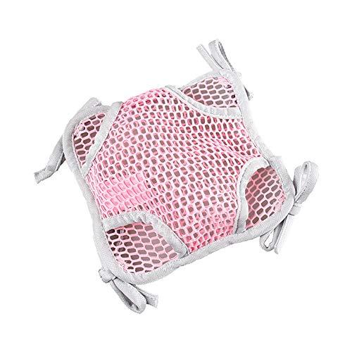 Double Sleeper (Ouken Sommer-Double Mesh Hängematte Sleeper hängende Nest für Eichhörnchen Papagei Hamster Frettchen Sugar Glider Ratten Mäuse klein Animals(Pink))
