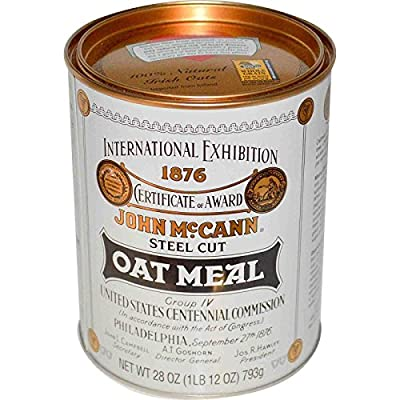 Irish Oatmeal, Steel Cut Oat Meal, 28 oz (793 g) (1 unit) from McCann's Irish Oatmeal